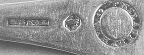 Five tablespoons by Wm. Seal, Jr., Phila., circa 1820