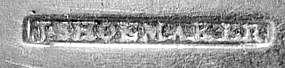 Six tablespoons by Joseph Shoemaker, Phila, circa 1800