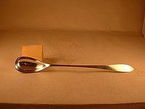 Pitcher spoon by David Carlson; Gardner, MA; c. 1920's