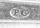 Teaspoon marked PG, circa 1800