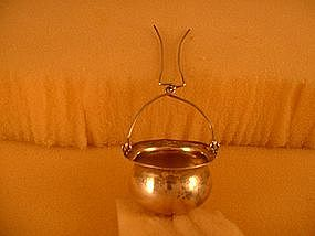 Tea strainer by International Sterling