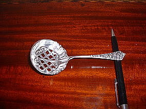 Bonbon spoon marked F.W.Sim&Co.; circa 1900