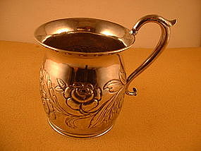 Child's cup by Curry&Preston, Philadelphia, circa 1829