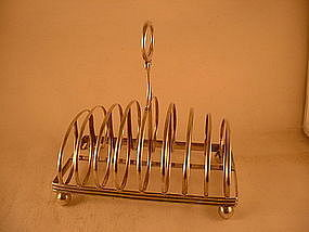 Toast rack by J.B.Jones&Co., Boston, 1838