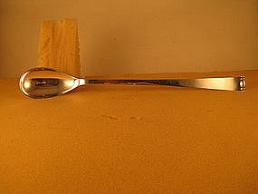 Stirring spoon by Allan Adler, Modern Georgian pattern