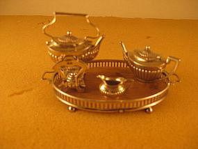 Miniature tea service, Birmingham, 1905