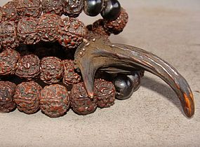 Ceremonial Tibetan Rudraksha Necklace