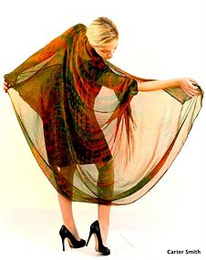 Shibori, Carter Smith, Fashion, Wearable Art