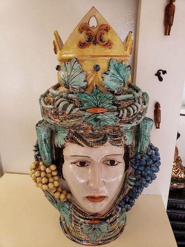 Italian Ceramic Queen