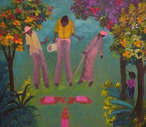 Lafortune Felix, Haitian, 1986