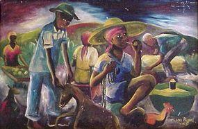 Wilson Bigaud, Haitian Master, Harvest 1965