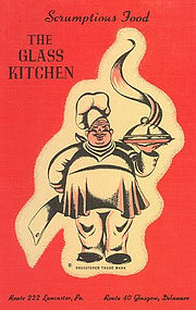 Linen Postcard, The Glass Kitchen