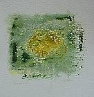 """Emily Mead, Monoprint  """"Portals II"""""""