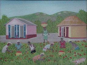Michelle Obin, Haitian Artist