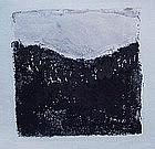 "Emily Mead, Monoprint, ""Ash"""