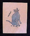 Andy Warhol, 25 Cats named Sam