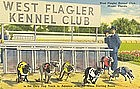 """West Flagler Kennel Club"" Linen Postcard, Tichnor"