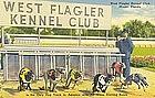 """West Flagler Kennel Club"" Linen Postcard, Tichnor"