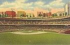 """Polo Grounds, New York City"" Linen P.C., Curt Teich"