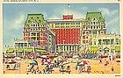 """""""Hotel Dennis"""" Vintage Linen Postcard, Tichnor"""
