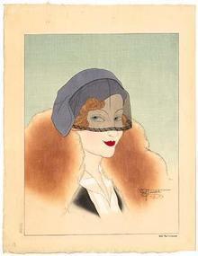 Paul Jacoulet, Une Parisienne 1934