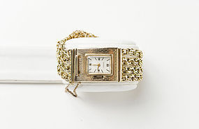 Ladies 14K Yellow Gold Baume & Mercier Bracelet Watch
