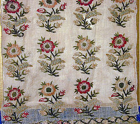 Antique 18th C Continental Embroidered Textile