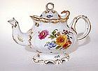 19th Century Dresden Porcelain Tea Pot