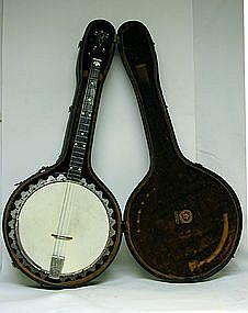 Vintage Vega Banjo Vegaphone Professional Model