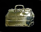 Antique Sterling Silver Luggage Tag By 