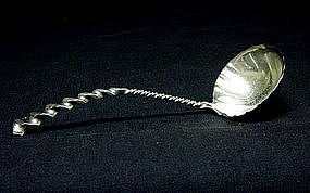 An American Victorian Sterling Silver Ladle