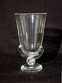 Vintage Steuben Vase By George Thompson, Ca  1942