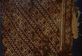 A Pochacuma Textile Panel, A.D. 1000