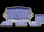 Thirteen-piece Copeland Spode Ice Cream  set, C.1885