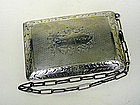 Antique Sterling Silver Coin Purse, Ca  1915