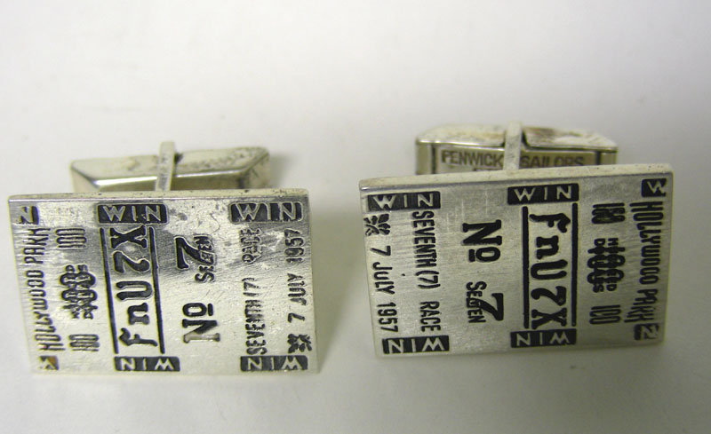 Fenwick & Sailors Silver Tote Ticket Form 