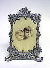 Victorian Ornate Flower Form Picture Frame