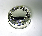 Small Sterling Silver Pill Box By Gorham