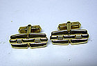 "Vintage ""Jail Yard"" Chain Link Cufflinks"
