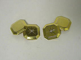 Edwardian Gold And Diamond Double 