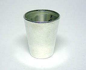 Vintage Barware Sterling Silver Shot 