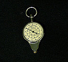 Vintage Nautical Distance Map Measurer 