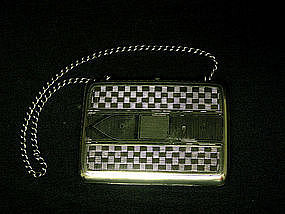 Imperial Russian Silver And Niello Minaudiere, C1895