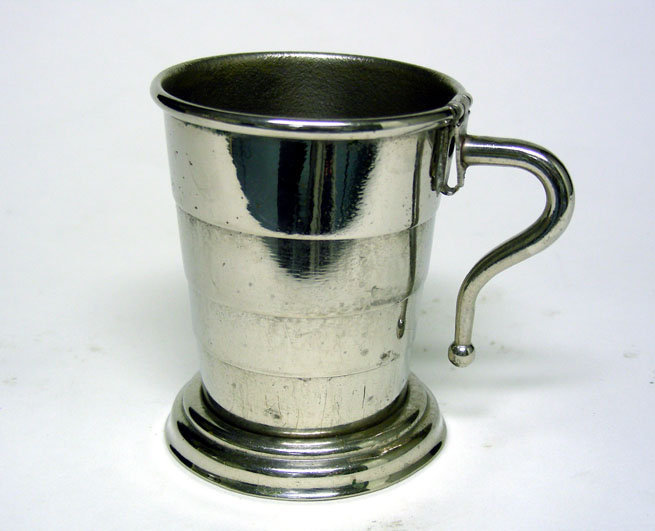 Vintage Silverplate Alligator Boxed Travel Cup