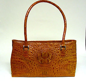 Genuine Leather Crocodile Handbag
