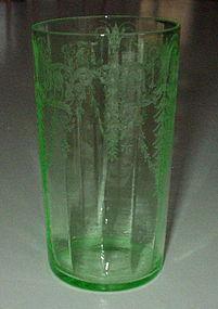 Cambridge CLEO Flat 10 oz Water Tumbler, Emerald Green