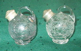 "Cambridge CHANTILLY 2.5"" Ball Shakers, Sterling Tops"