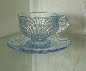 Cambridge CAPRICE Cup and Saucer Set, Moonlight Blue