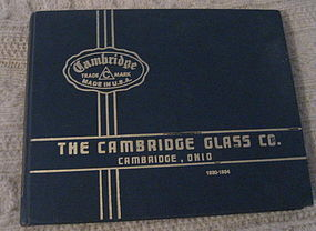 Cambridge Identification and Value Guide 1930-1934