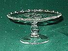Fostoria HEATHER Etch Short Stem Cheese Comport Crystal